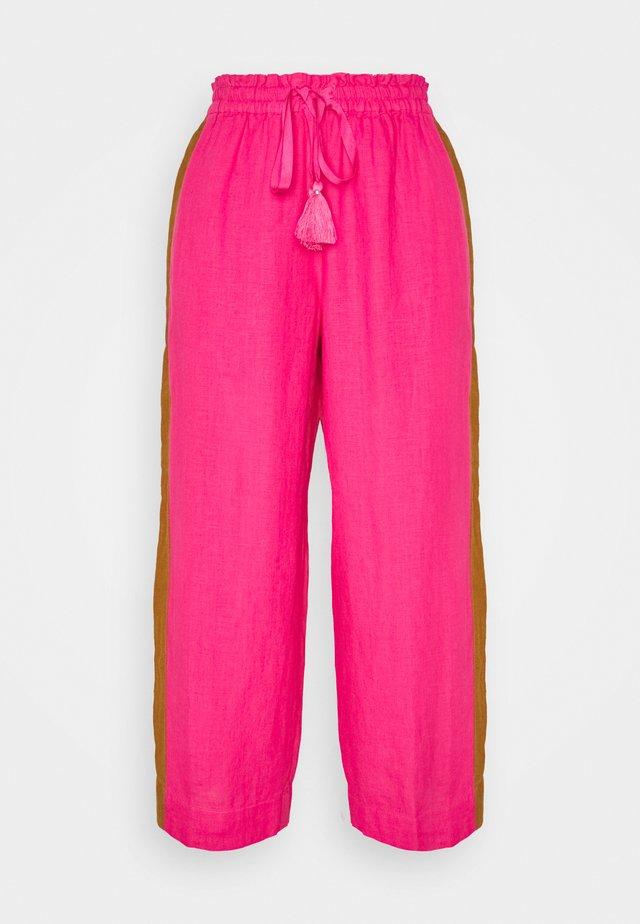 VICOLO DRAWSTRING PANT  - Pantalon classique - sweet briar