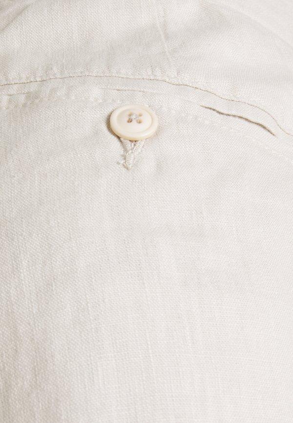 Bruun & Stengade MARSHALL - Spodnie materiałowe - sand/piaskowy Odzież Męska QAUI
