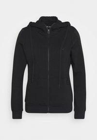 True Religion - HOODED JACKET METAL HORSESHOE - Zip-up hoodie - black - 0