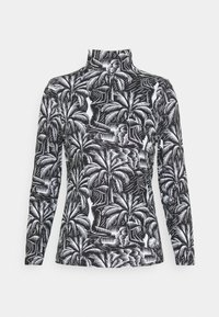 NU-IN - TONI DREHER X nu-in EDEN HIGH NECK LONG SLEEVE TOP - Long sleeved top - black/white - 0