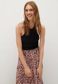Mango - ELI-X - Pleated skirt - rosa - 3