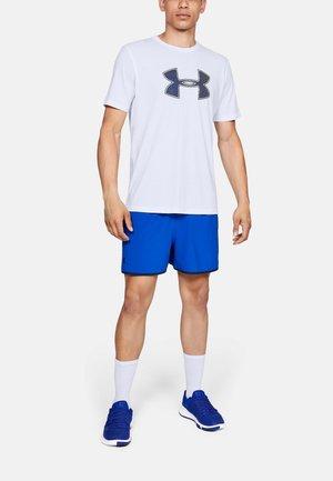 UA BIG LOGO SS - Basic T-shirt - white