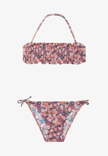 Bikini - dark nude st.summer flower