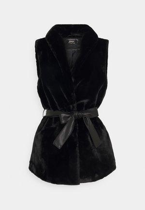 ONLOLLIE WAISTCOAT - Waistcoat - black