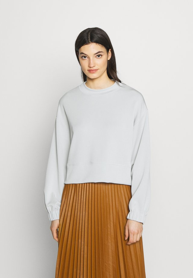 RUCHED - Long sleeved top - white