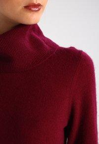 Zalando Essentials - CASHMERE - Strickpullover - dark red - 3