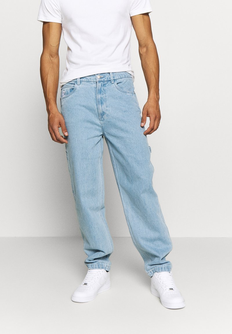 Karl Kani - BAGGY - Jeansy Relaxed Fit - blue