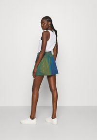 Calvin Klein Jeans - REFLECTIVE MINI SKIRT - Mini skirt - multi-coloured - 2