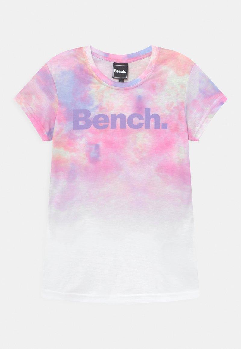 Bench - ANNALISE - Print T-shirt - white