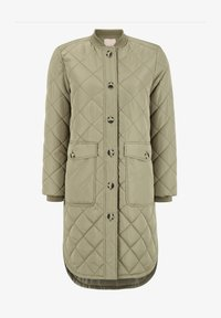 EILEEN - Classic coat - covert green