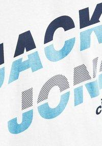 Jack & Jones - JCOALPHA TEE - Print T-shirt - white - 6