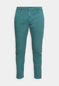 XX CHINO SLIM FIT II - Chino kalhoty - harbor blue s twill gd