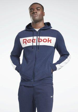 TE LL FZ HOODIE - Zip-up hoodie - blue