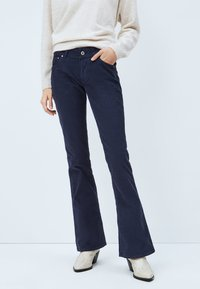 Pepe Jeans - NEW PIMLICO - Bootcut jeans - azul marino - 0