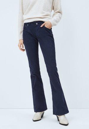 NEW PIMLICO - Bootcut jeans - azul marino