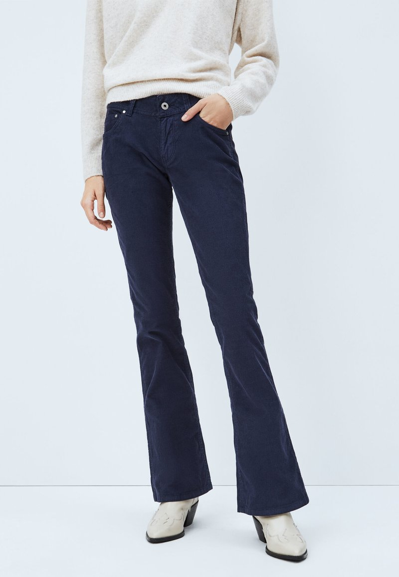 Pepe Jeans - NEW PIMLICO - Bootcut jeans - azul marino