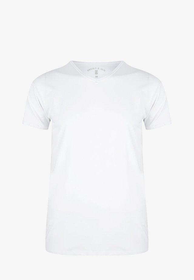 T-shirt basic - weiss