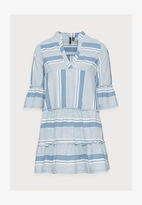 Vero Moda Petite - VMAKELA CHAMBRAY - Denní šaty - light blue - 4