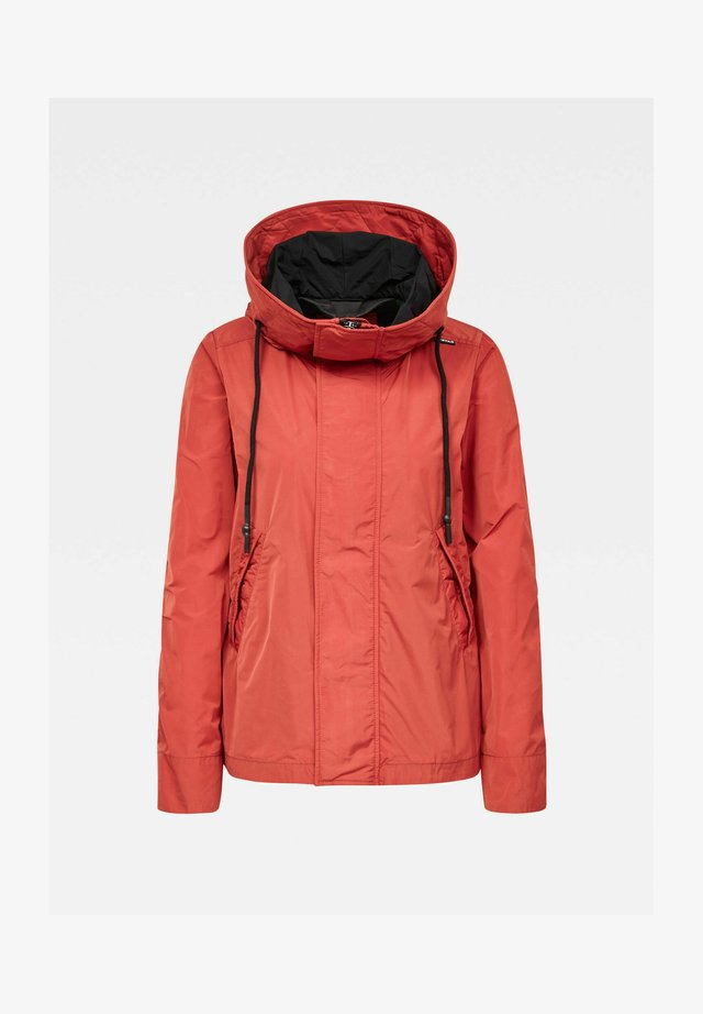 Winter jacket - rusty red