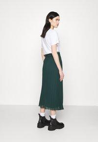 Monki - A-lijn rok - dark green - 2