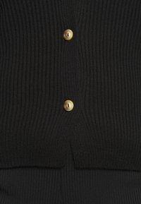 Missguided Plus - SKINNY CARDIGAN - Cardigan - black - 5