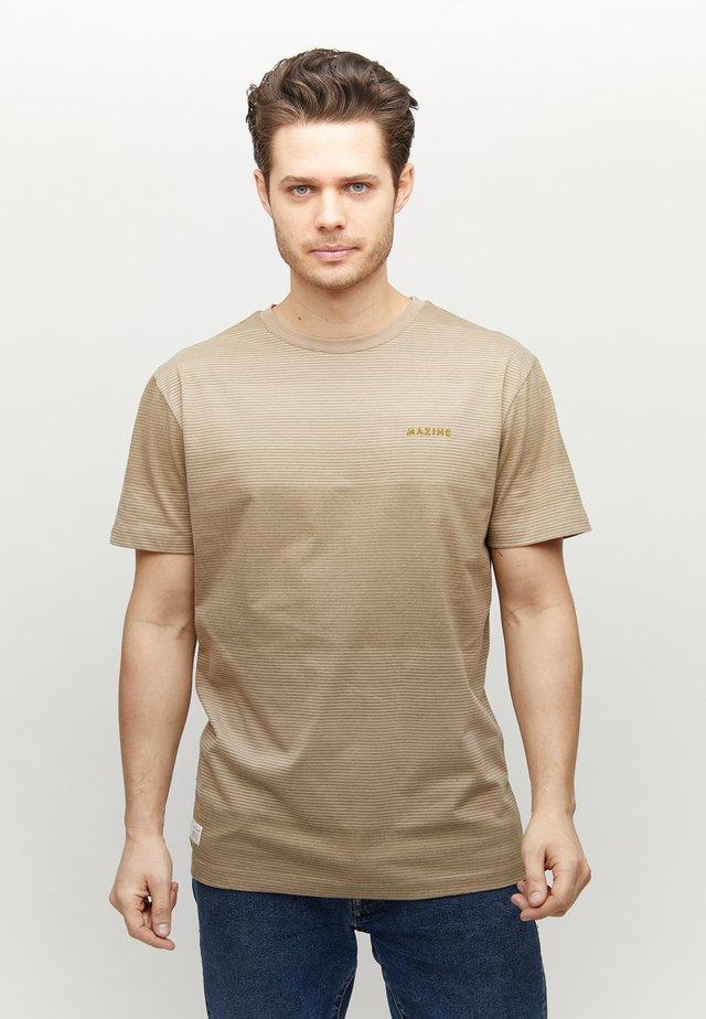 CARNO - Print T-shirt - tan