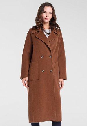 MANTEL - Classic coat - karamell