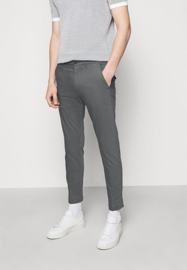 KREW - Stoffhose - grey