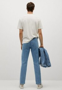 Mango - HILLARY-I - Jeans straight leg - blu medio - 2