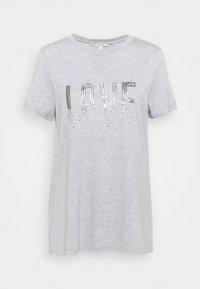Esprit - Print T-shirt - light grey - 0