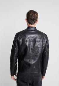 Strellson - BRIXTON - Leather jacket - black - 2