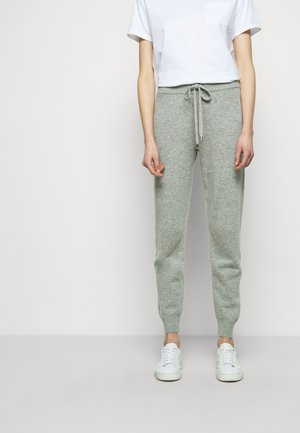 ECO TAPE - Tracksuit bottoms - pearl heather