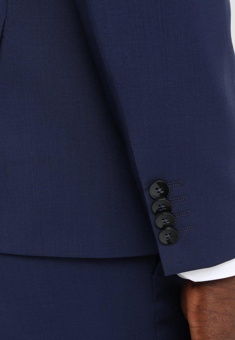 Hanki Uusin Muoti Miesten vaatteet Sarja dfKJIUp97454sfGHYHD Calvin Klein Tailored WOOL NATURAL STRETCH FITTED SUIT Puku indigo