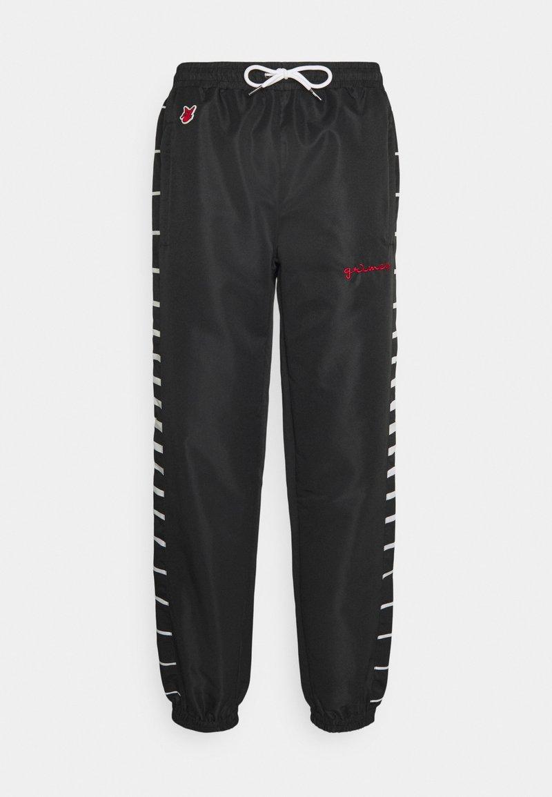 Grimey - GRMY X GZUZ UNISEX TRACK PANTS - Teplákové kalhoty - black