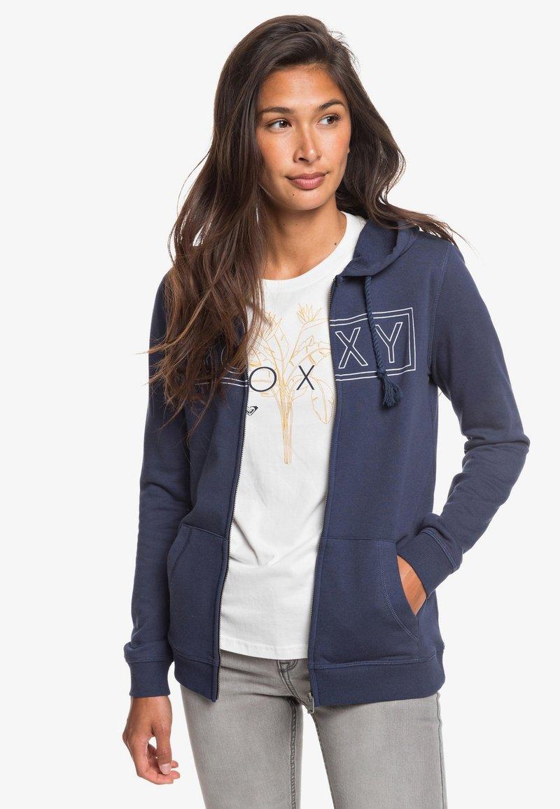 Roxy - COSMIC NIGHTS - Zip-up sweatshirt - mood indigo