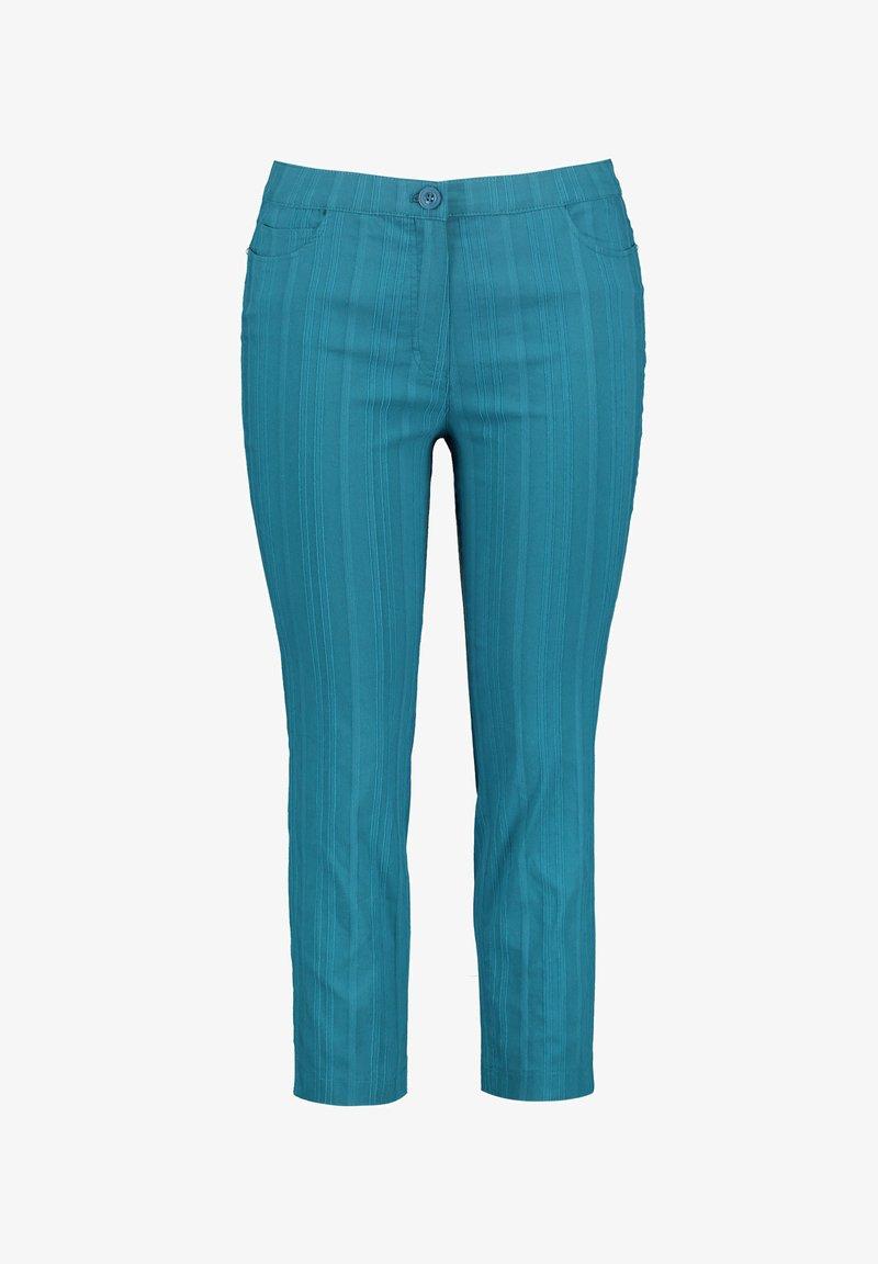 Samoon - BETTY - Shorts - blue coral