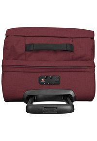 Eastpak - TRANVERZ  - Wheeled suitcase - red - 3