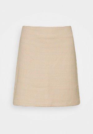RIVER SKIRT - Minijupe - beige