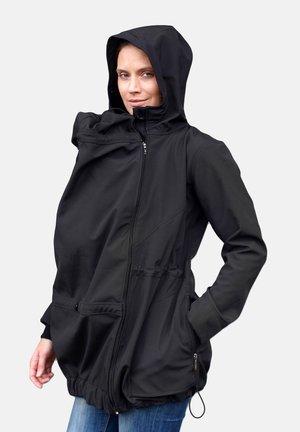 UMSTANDS-TRAGEJACKE PAULA - Soft shell jacket - black