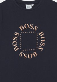 BOSS - SHORT SLEEVES  - Camiseta estampada - navy - 2
