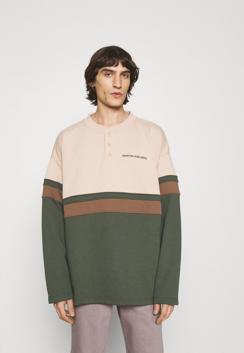 Martin Asbjørn - SAMUEL CREWNECK  - Sweatshirt - color block