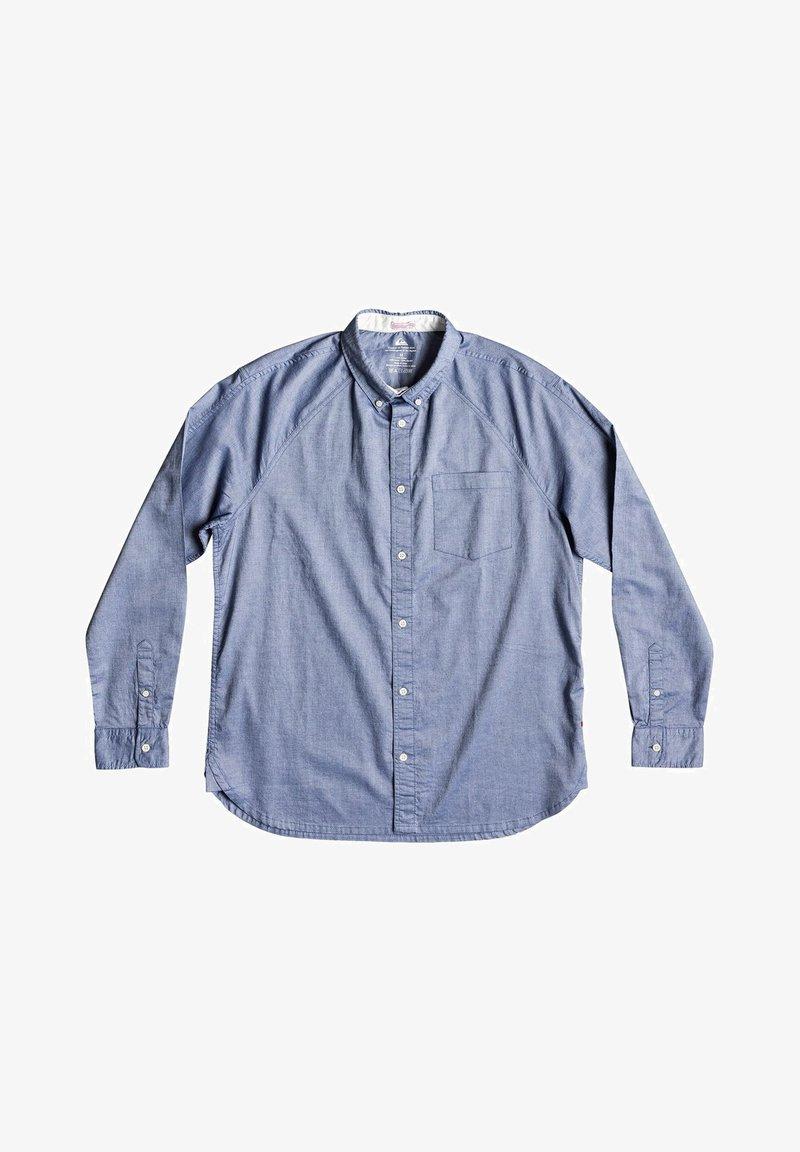 Quiksilver LONG SLEEVED - Hemd - blue indigo/blau dnx4ku