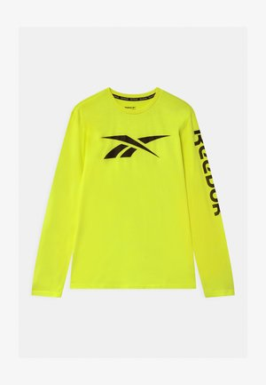 VECTOR - Top s dlouhým rukávem - safety yellow