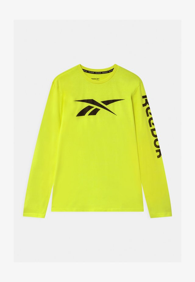 VECTOR - Langærmede T-shirts - safety yellow