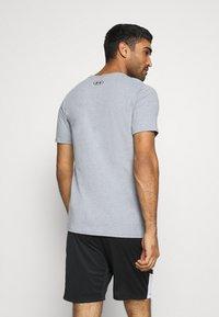 Under Armour - ROCK BRAHMA BULL - Camiseta estampada - steel light heather - 2