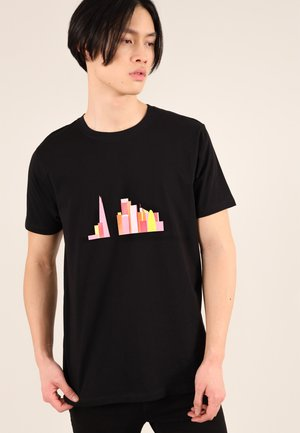 LONDON SKY - T-shirt con stampa - black