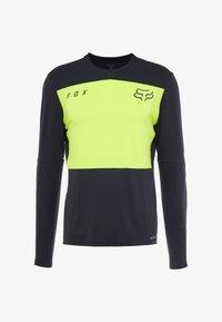 Fox Racing - DEFEND DELTA LUNAR - Sports shirt - day glow yellow - 7