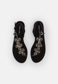 KHARISMA - T-bar sandals - nero - 4