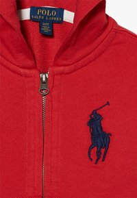 Polo Ralph Lauren - HOOD - Felpa aperta - evening post red - 4