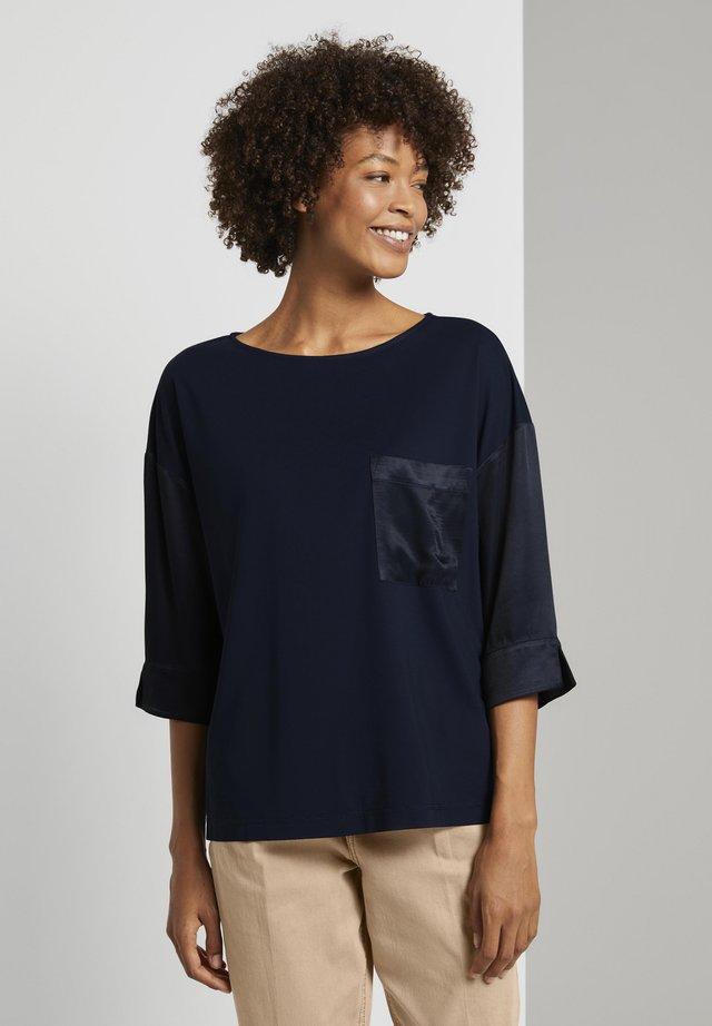 T-shirt à manches longues - sky captain blue